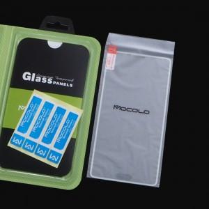 Стъклен протектор Mocolo за Samsung Galaxy Note 4 (с бяла лайсна)