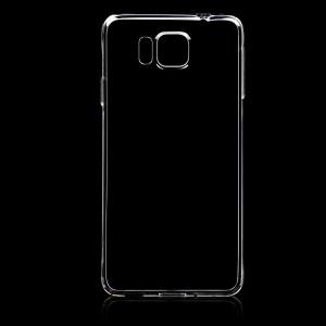 Силиконов калъф гръб за Samsung Galaxy Alpha