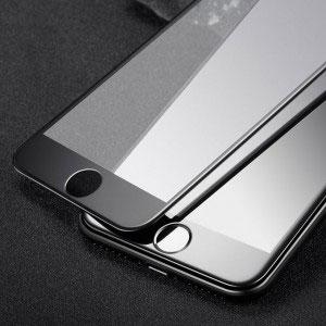 Стъклен протектор за Apple iPhone 7 Plus (full 3D cover черен)