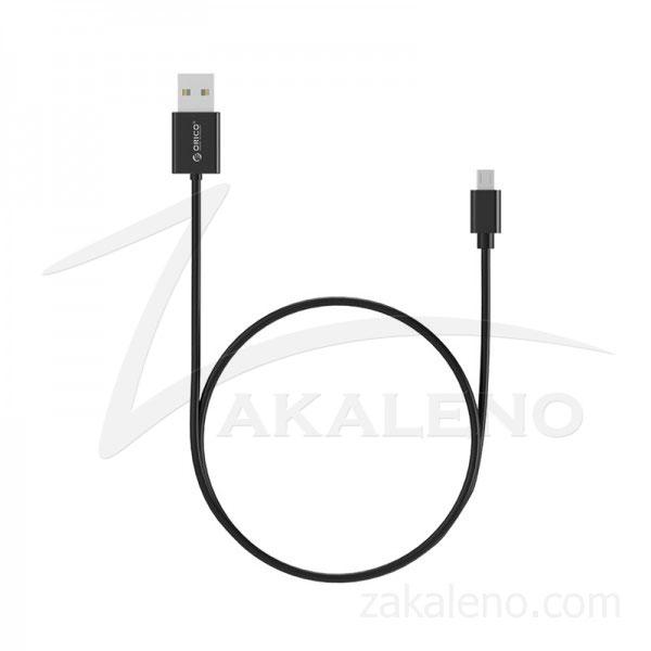 Кабел за зареждане/данни Orico, USB 2.0 A – Micro USB B