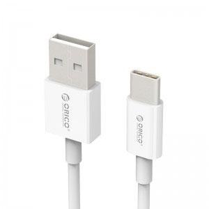 Кабел за зареждане/данни Orico, USB 2.0 A - USB C