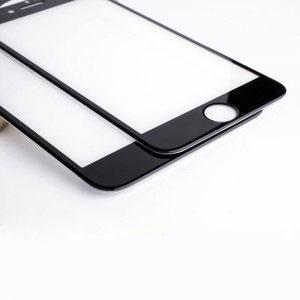 Стъклен протектор за Apple iPhone 8 Plus (3D черен)