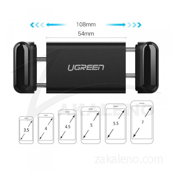 Стойка Ugreen за кола за телефон, към радиатор/въздуховод