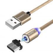 Магнитен кабел за зареждане Floveme, USB 2.0 A – USB Type C