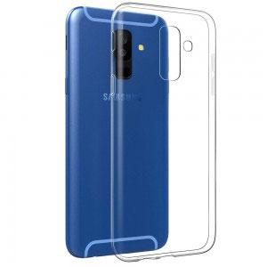 Силиконов калъф гръб за Samsung Galaxy A6+ Plus 2018