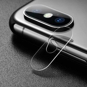Стъклен протектор за задна камера за Apple iPhone X