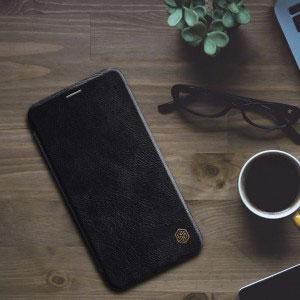 Кожен калъф Nillkin Qin за Apple iPhone XR