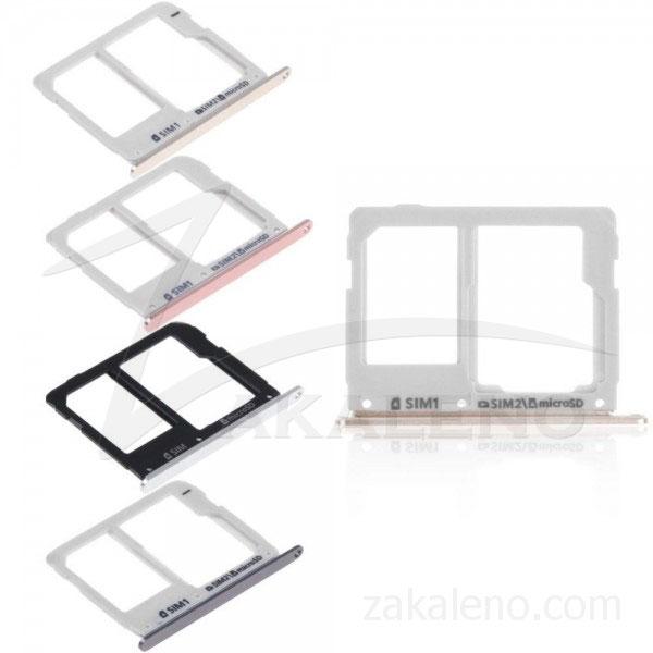 Сим държач за Samsung Galaxy A3, A5, A7 2016 Dual
