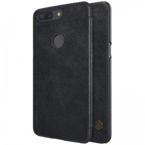 Кожен калъф Nillkin Qin за OnePlus 5Т