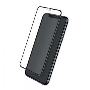 Стъклен протектор за Apple iPhone XR (3D черен)