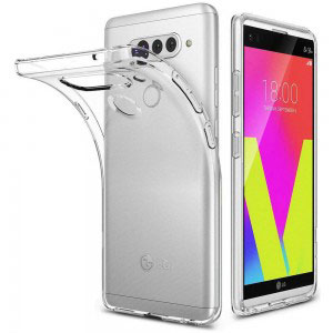 Силиконов калъф гръб за LG V40 ThinQ