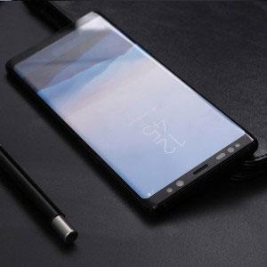 Стъклен протектор за Samsung Galaxy Note 9 (извит 3D протектор с цяло лепило)