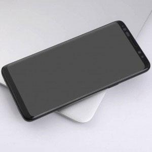 Стъклен протектор за Samsung Galaxy S8 (извит 3D протектор с цяло лепило)