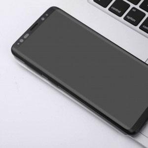 Стъклен протектор за Samsung Galaxy S8 Plus (извит 3D протектор с цяло лепило)
