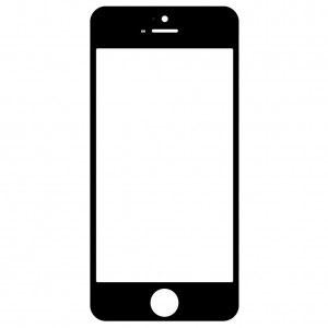 Предно стъкло за дисплей, тъчскрийн за Apple iPhone 5, 5s, 5c