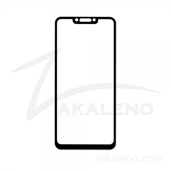 Стъклен протектор за Huawei Nova 3 (цветна рамка с цяло лепило)