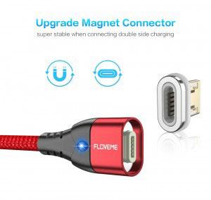 Накрайник за магнитен кабел за зареждане/данни Floveme, Apple Lightning