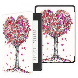 Кожен калъф за Amazon Kindle Paperwhite 4 2018 - Есенна любов