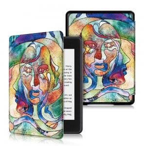 Кожен калъф за Amazon Kindle Paperwhite 4 2018 - Многолика жена