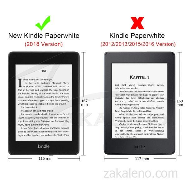 Кожен калъф за Amazon Kindle Paperwhite 4 2018 – Акварелни цветя