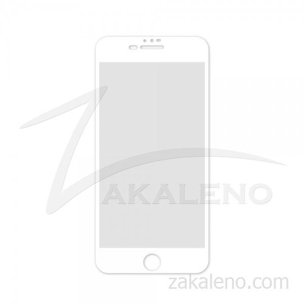 Стъклен протектор за Apple iPhone 7 Plus (бяла рамка с цяло лепило)