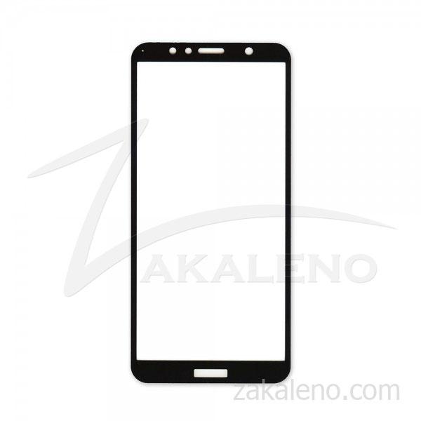 Стъклен протектор за Huawei Honor 7A (черна рамка с цяло лепило)