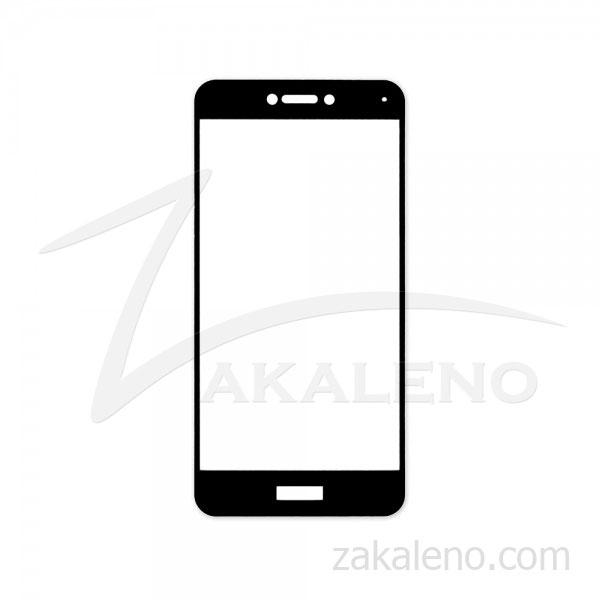 Стъклен протектор за Huawei P8 Lite (2017) (черна рамка с цяло лепило)