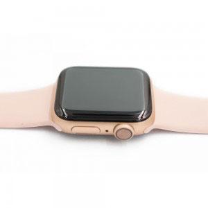 Стъклен протектор за Apple Watch Series 3/2/1 38mm (извит 3D протектор с цяло лепило)