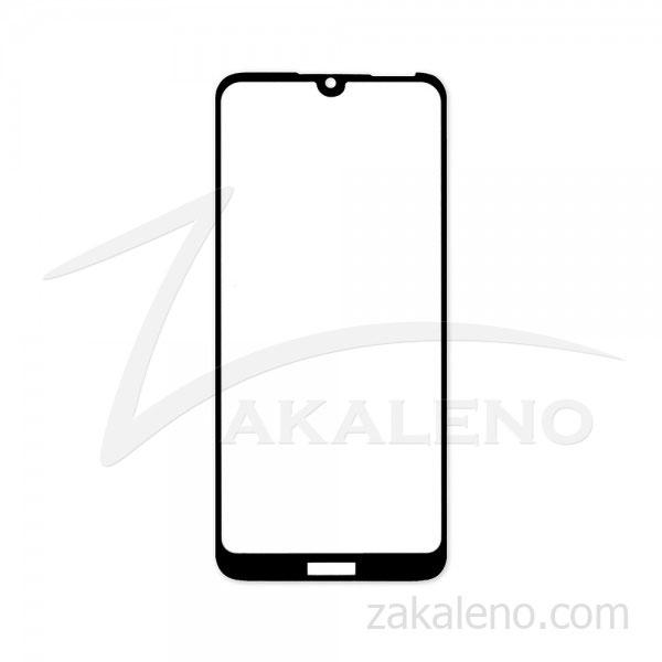 Стъклен протектор за Huawei Honor 8A, Honor Play 8A (черна рамка с цяло лепило)