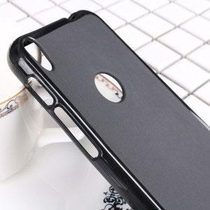 Силиконов калъф гръб за Alcatel Shine Lite - черен