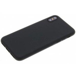 Силиконов калъф гръб за Apple iPhone X, XS - черен