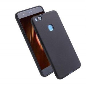 Силиконов калъф гръб за Huawei P10 Lite - черен