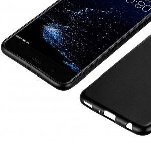 Силиконов калъф гръб за Huawei P10 Plus - черен