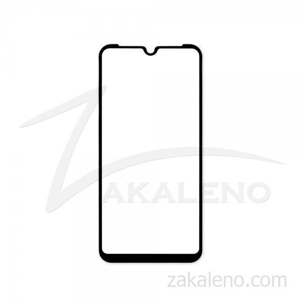 Стъклен протектор за Huawei Honor 8S (черна рамка с цяло лепило)