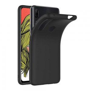 Силиконов калъф гръб за Huawei P Smart Z - черен