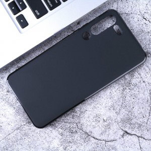 Силиконов калъф гръб за Lenovo Z6 Pro - черен