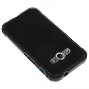 Силиконов калъф гръб за Samsung Galaxy Xcover 3 - черен