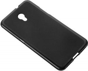 Силиконов калъф гръб за ZTE Blade V7 - черен