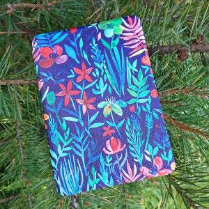 Кожен калъф за Amazon Kindle Paperwhite 1, 2, 3 - Нощ в джунглата