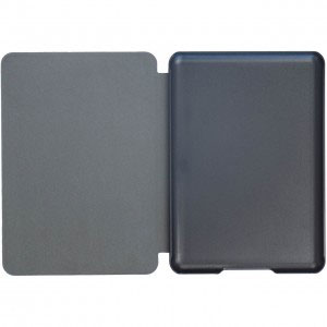 Кожен калъф за Amazon Kindle Paperwhite 1, 2, 3 - Ретро флорален тапет