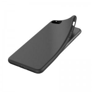 Силиконов калъф гръб за Apple iPhone 8 - черен