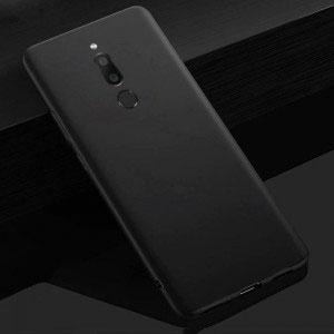 Силиконов калъф гръб за Meizu M6T - черен мат