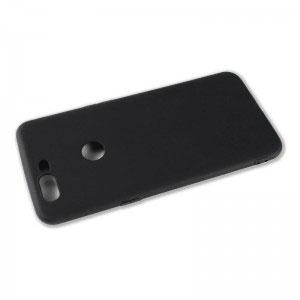 Силиконов калъф гръб за OnePlus 5 - черен