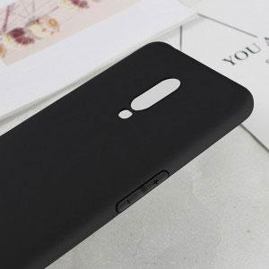 Силиконов калъф гръб за OnePlus 6T - черен