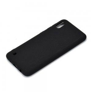 Силиконов калъф гръб за Samsung Galaxy A10 - черен