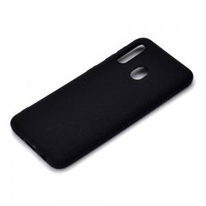Силиконов калъф гръб за Samsung Galaxy A20e - черен