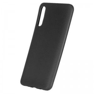 Силиконов калъф гръб за Samsung Galaxy A50 - черен