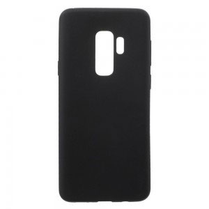 Силиконов калъф гръб за Samsung Galaxy S9 Plus - черен