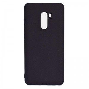 Силиконов калъф гръб за Xiaomi Pocophone F1 - черен