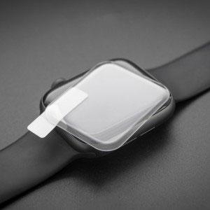 Стъклен протектор с течно UV лепило за Apple Watch Series 5 44mm